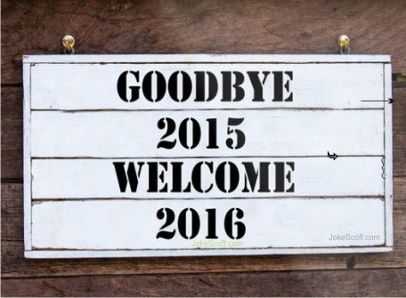 good bye 2016 welcome 2016