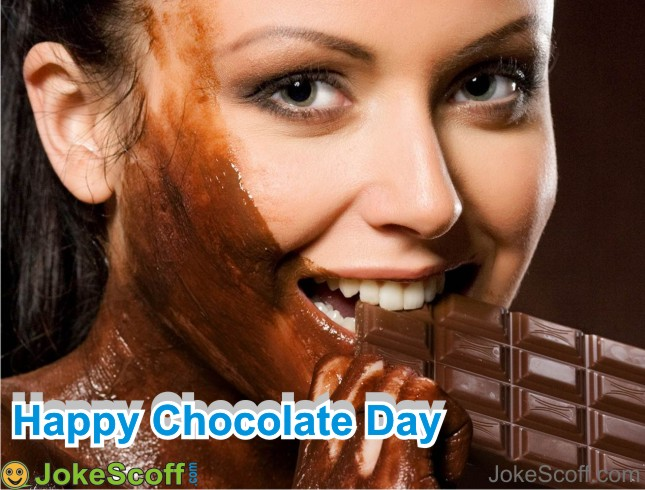 Chocolate Day Girl DP