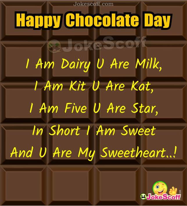 Chocolate Day Status in Hindi