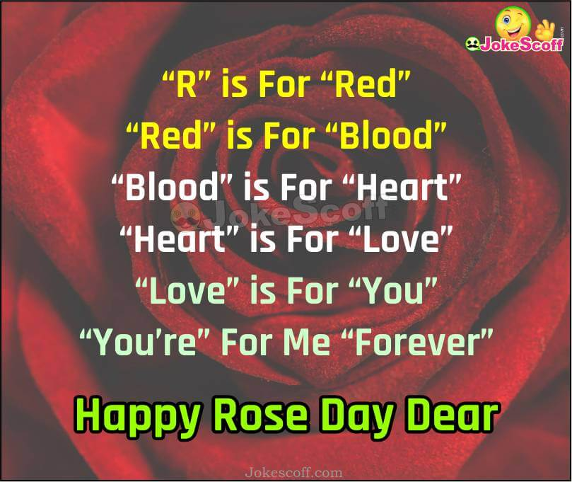 Happy Rose Day Message for Friends