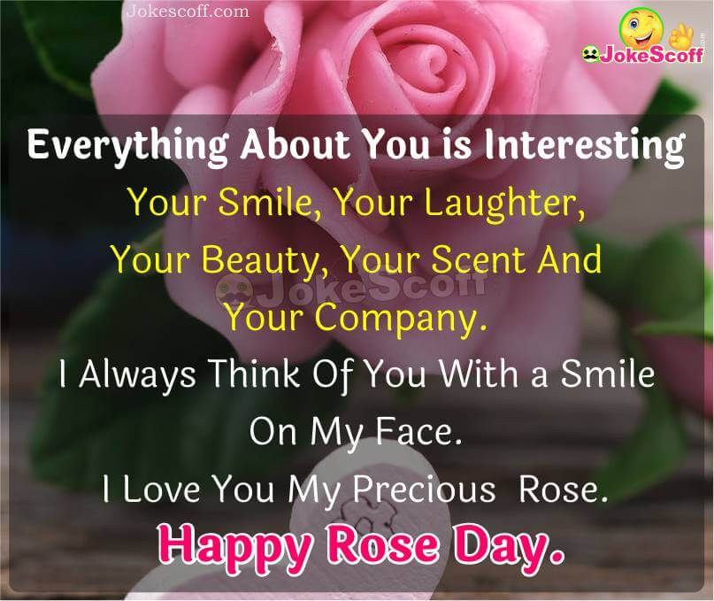 Happy Rose Day Wishes in English
