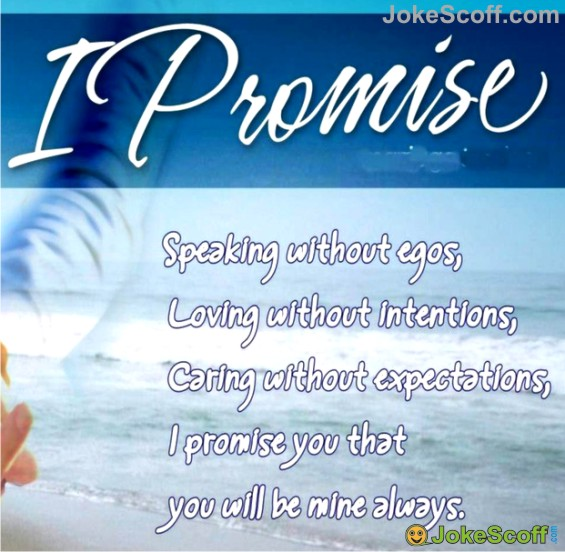 I Promise - Promise Day SMS
