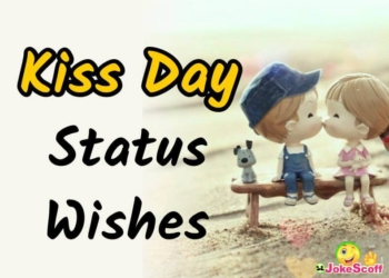 TOP 51 Kiss Day Status in Hindi & Eng  | Kiss Day Wishes SMS