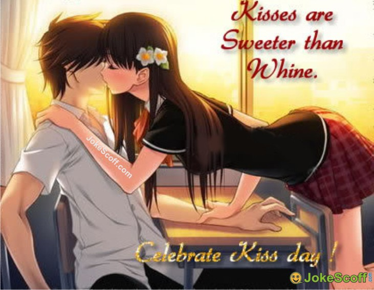 Kiss Day Romantic Image