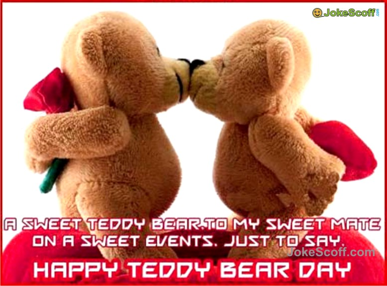 Sweet Teddy Bear Day