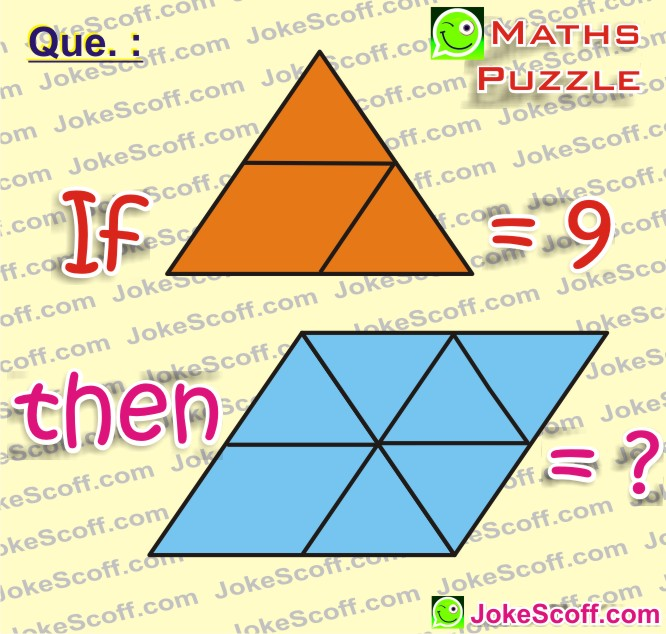 WhatsApp maths puzzles