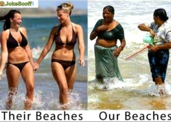 Funniest indian beach pics