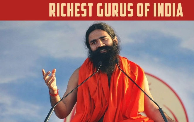 Baba Ramdev richest guru of india