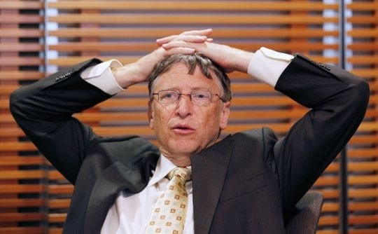 bill gates can get bankrupt