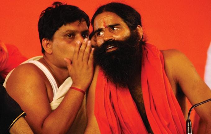 ramdev baba and acharya balkrishna best close friends