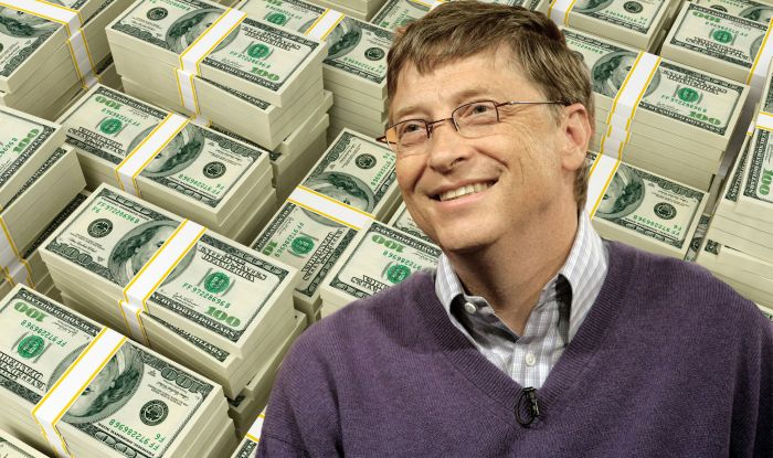 bill gates earning