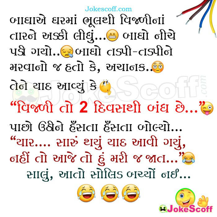 Funny Bagha Gujarati Jokes