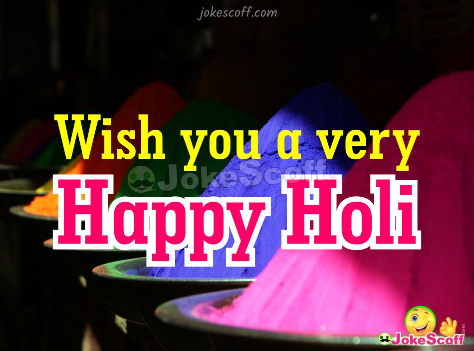 Wish You a Happy Holi for Friend Image