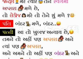 Gujarati Husband Wife Jokes Funny
