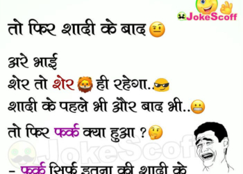 After and Before Marriage Man Like Lion Funny Jokes