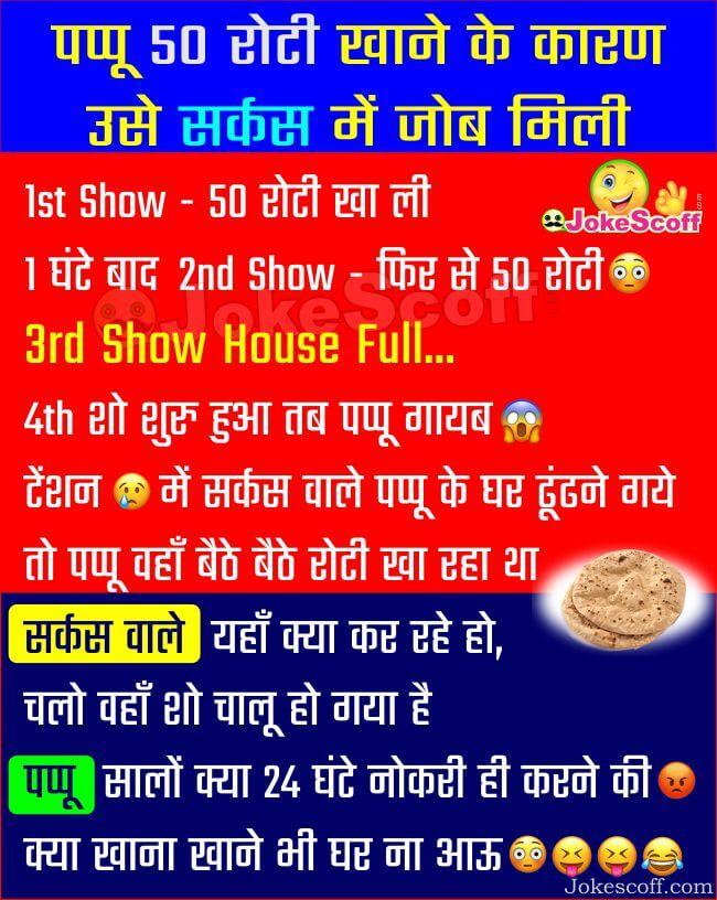 Pappu Jokes in Hindi - Circus Jokes in Hindi