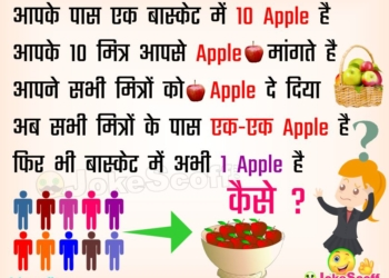 10 Apples in Basket Puzzles in Hindi