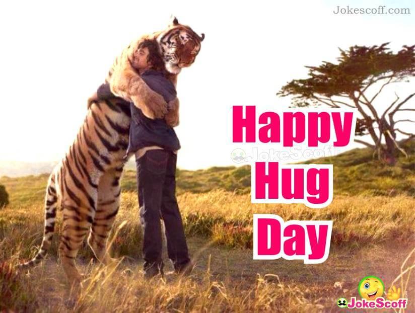 Hug Day Funny Image