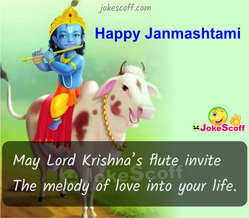 Happy Janmashtami in Hindi