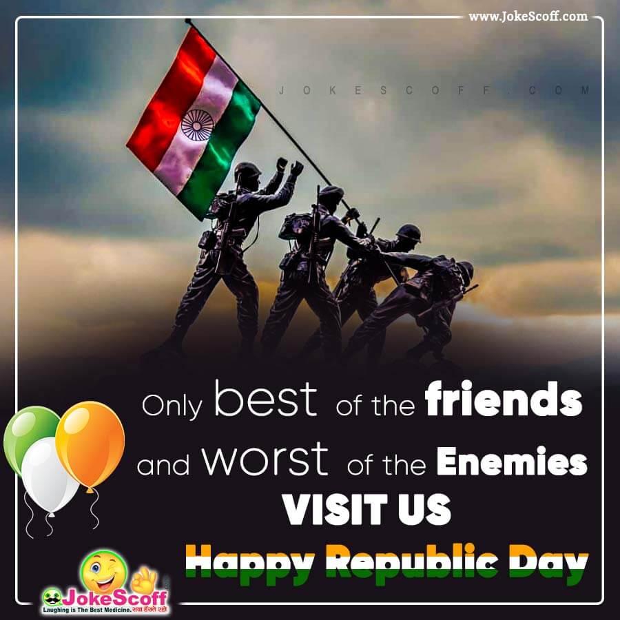 Happy Republic Day Status