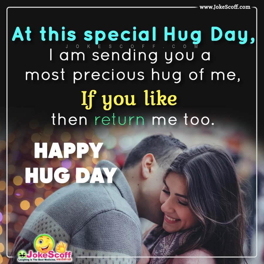 Hug Day New Status