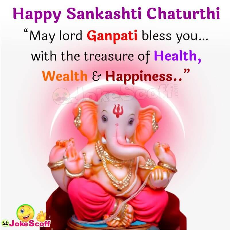 Sankashti Chaturthi Wishes in Hindi